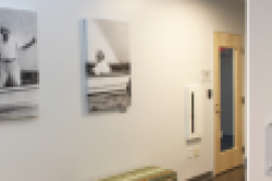 Lotte Jacobi Art Collection Mounted in UNHInnovation Halls