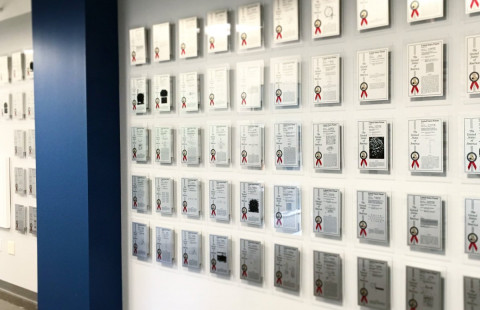 UNHInnovation patent wall