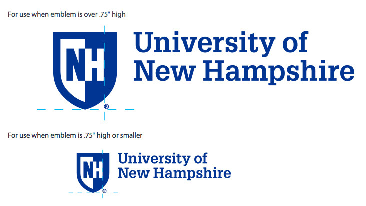 UNH Logo and Wordmark