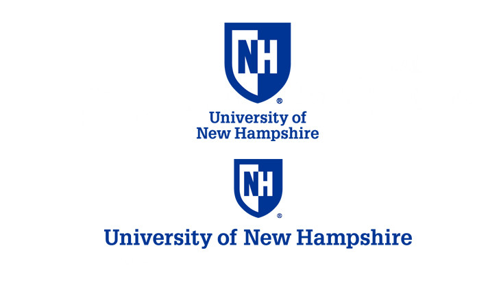 UNH Vertical Logo and Wordmark