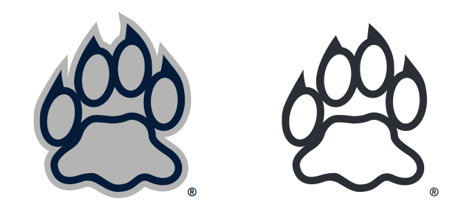 UNH Wildcat Paw