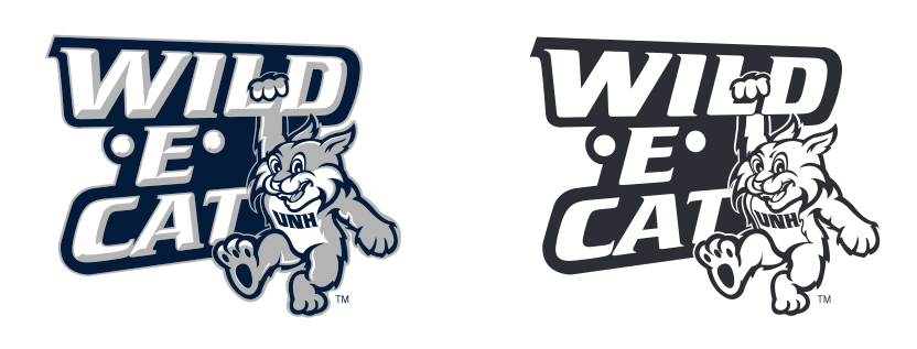 Wild E. Cat Body and Wordmark